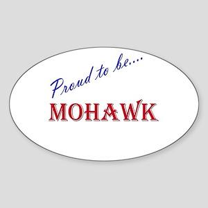 Mohawk Oval Sticker