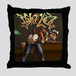 PoolHall-16x20 Throw Pillow