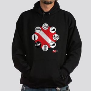 3-Circle-of-Scuba Hoodie (dark)