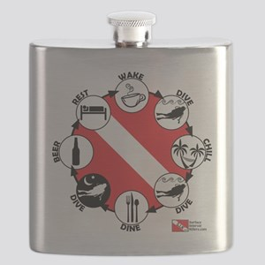3-Circle-of-Scuba Flask