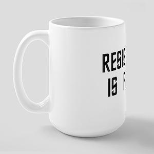 resistance Large Mug
