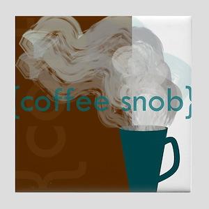 Coffee Snob Tile Coaster