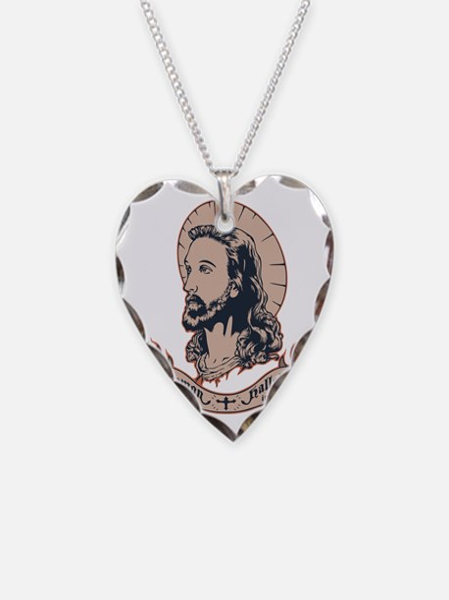 jesus-mullet-T Necklace