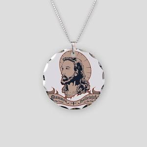 jesus-mullet-T Necklace Circle Charm