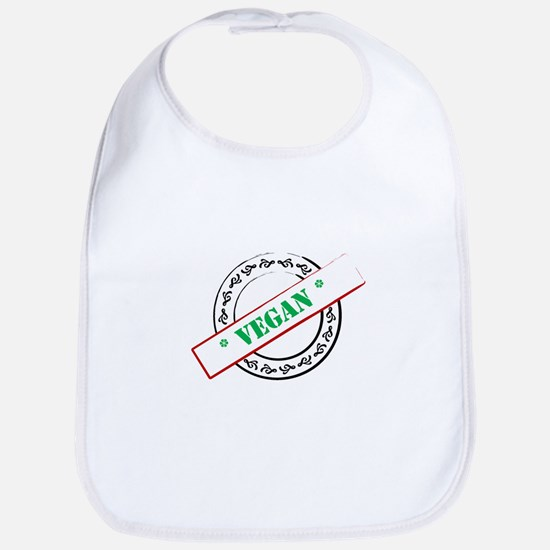 Vegan Stamp Bib