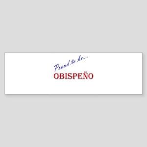 Obispeno Bumper Sticker