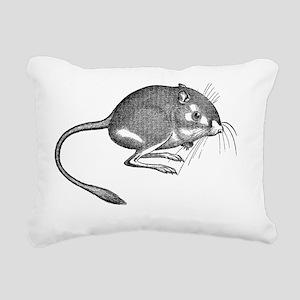 Kangaroo Rat Rectangular Canvas Pillow