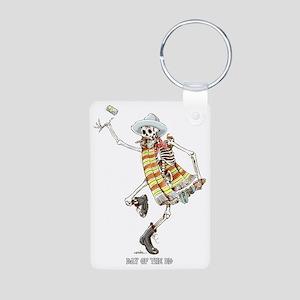 dead-ed Aluminum Photo Keychain