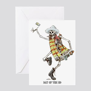 dead-ed Greeting Card