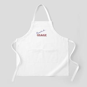 Osage BBQ Apron