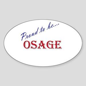 Osage Oval Sticker