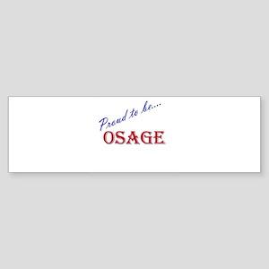 Osage Bumper Sticker