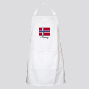 Norway - Norwegian Flag BBQ Apron