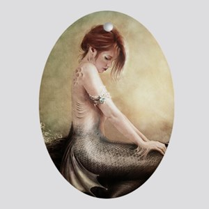 Sea Faerie, Cropped Oval Ornament