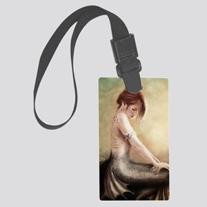 Sea Faerie, Cropped Large Luggage Tag