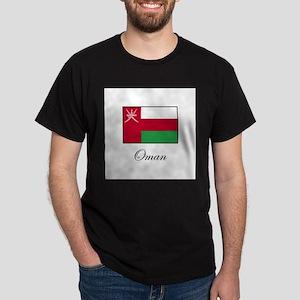 Oman - Omani Flag Dark T-Shirt