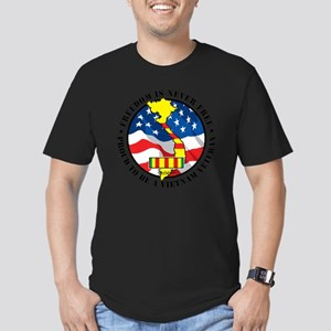 Vietnam-Freedom-Vetera Men's Fitted T-Shirt (dark)