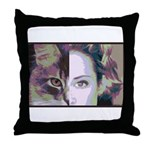 Humanimal Throw Pillow