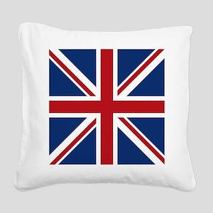 union-jack_18x18 Square Canvas Pillow