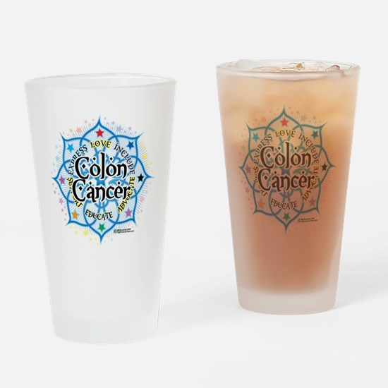 Colon-Cancer-Lotus Drinking Glass