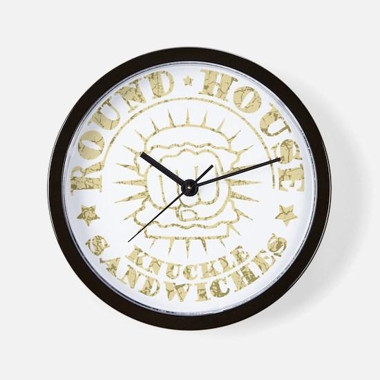 round-house-DKT Wall Clock