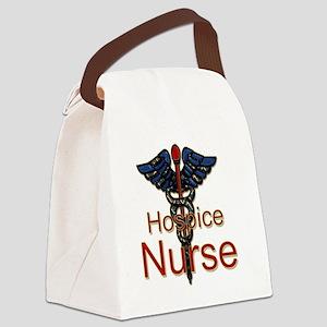 CAD. Hospice Nurse  Canvas Lunch Bag