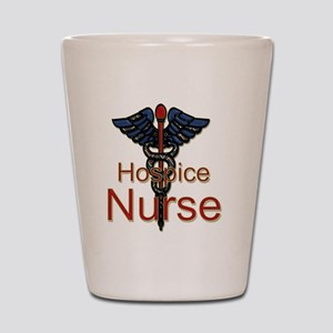 CAD. Hospice Nurse  Shot Glass