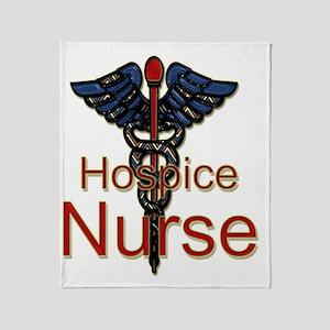 CAD. Hospice Nurse  Throw Blanket