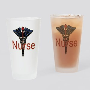 CAD. Nurse  Drinking Glass