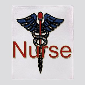 CAD. Nurse  Throw Blanket