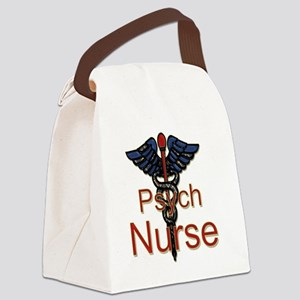 CAD. Psych  Canvas Lunch Bag