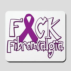 Fuck-Fibromyalgia-blk Mousepad