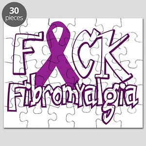 Fuck-Fibromyalgia-blk Puzzle