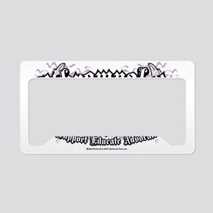 Fibromyalgia-Wings License Plate Holder