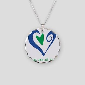 DoulasAllHeartTorquoise225 Necklace Circle Charm