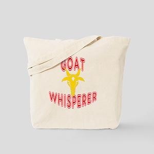 goat whisperer dark Tote Bag