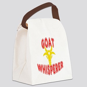 goat whisperer dark Canvas Lunch Bag