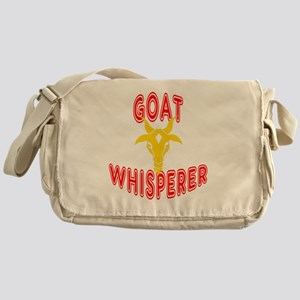 goat whisperer dark Messenger Bag