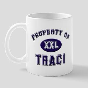 My heart belongs to traci Mug