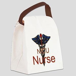 CAD. NICU  Canvas Lunch Bag