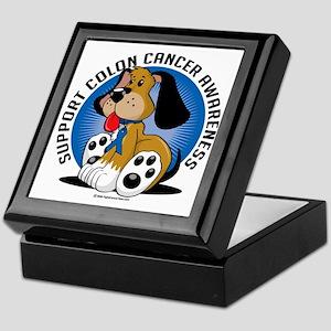 Colon-Cancer-Dog Keepsake Box