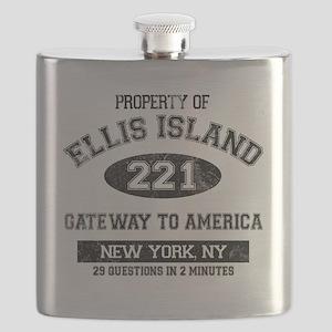 ellis island Flask