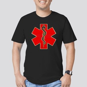 Red Cad copy Men's Fitted T-Shirt (dark)