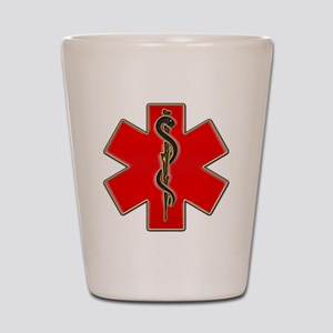 Red Cad copy Shot Glass