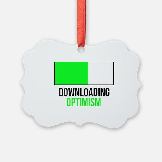 Funny Optimism Ornament
