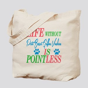Life without Poodle is pointless Tote Bag