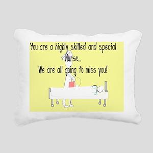 Story ARt HIGHLY SKILLED Rectangular Canvas Pillow