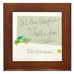 Turtle Turtle Turtle Framed Tile