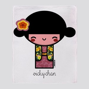 vickychan600 Throw Blanket