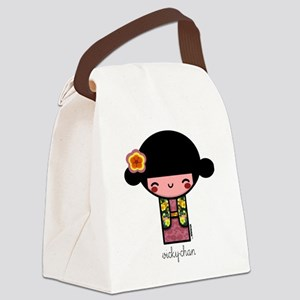 vickychan600 Canvas Lunch Bag
